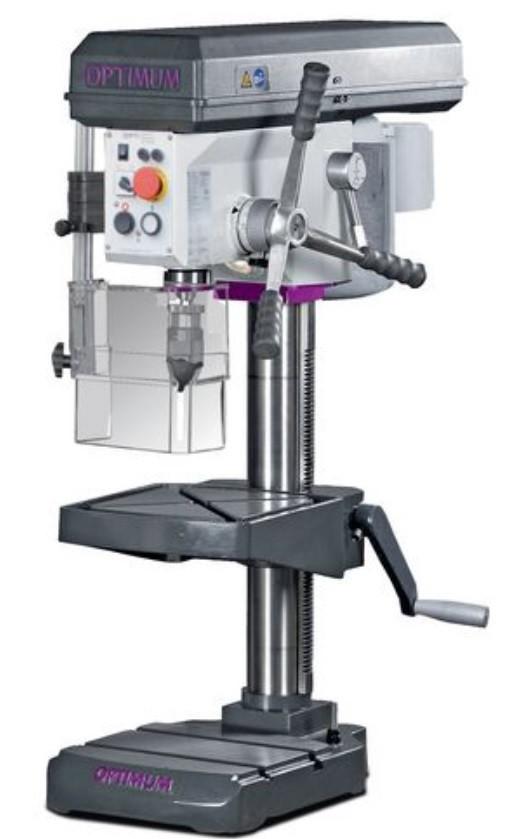 Станок сверлильный Optimum OPTIdrill B24H (380 В) настольный с специальным набором с тисками