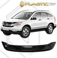 Мухобойка (дефлектор капота) для Honda CR-V 2009-2012 (арт. 2010010107550)