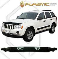 Мухобойка (дефлектор капота) для Jeep Grand Cherokee 2005-2010 (арт. 2010010103019)