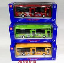 Автобус Городской (модель 1:32) (677-6*)