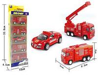 Набор машин металлических 5в1 Пожарные (1210-6Г*)