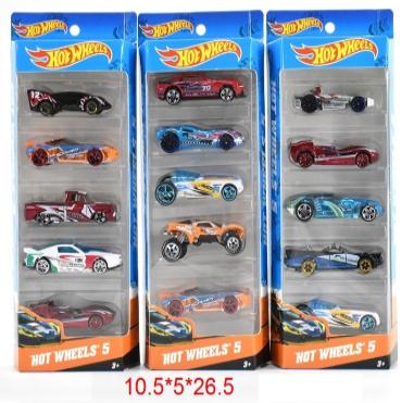 Набор модельных машин Hot Wheels, 5шт (565-903*)