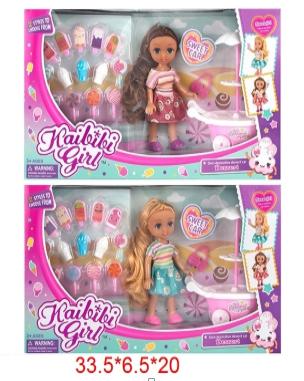 Кукла Kaibibi Girl с акссесуарами (ВЛД220*)