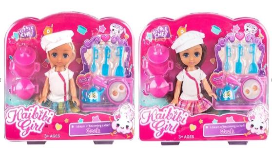 Кукла Kaibibi Girl с акссесуарами (ВЛД230*)