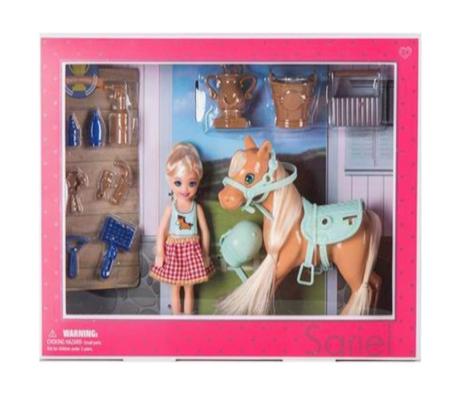Кукла с лошадкой   (7766-А*)