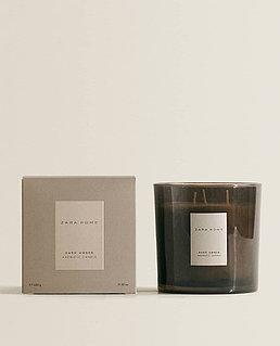 Zara Home Dark Amber Aromatic Candle 200g