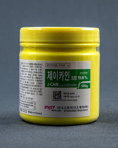 Крем анестетик обезболивающий J-Caine 15.6%, фото 2