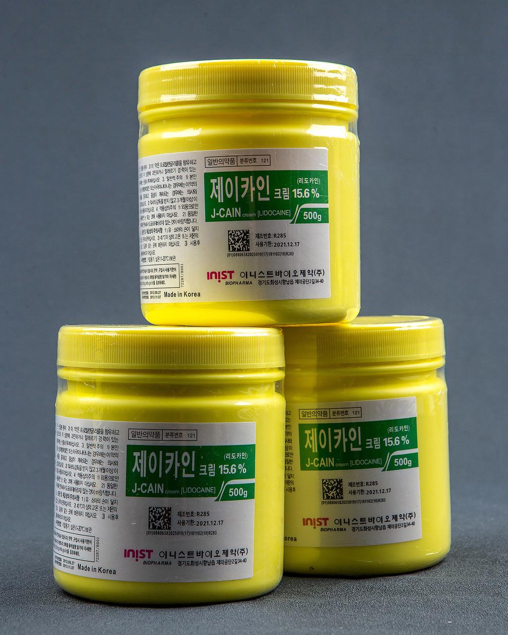 Крем анестетик обезболивающий J-Caine 15.6% - фото 2