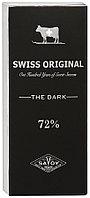 SWISS ORIGINAL горький шоколад в картоне 100гр (10шт - упак)