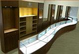 Cветодиодная светильник Т5, светильник накладной, Т5 трубка 88 см для подсветки витрин, стекол, фото 2
