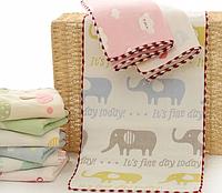 Мягкие полотенца для ребенка