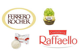 Ferrero Rocher - Raffaello