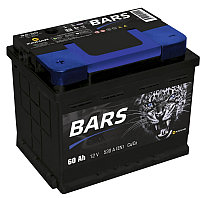 BARS 6СТ - 60 Ah (прямая полярность (+ -)