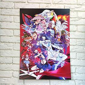 Постер Килл Ла Килл - Kill La Kill