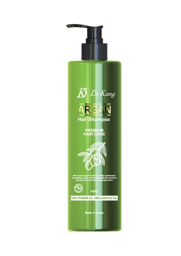 Dr.Kang Шампунь Премиум-класса с аргановым маслом Argan Oil Premium Shampoo / 550 мл.