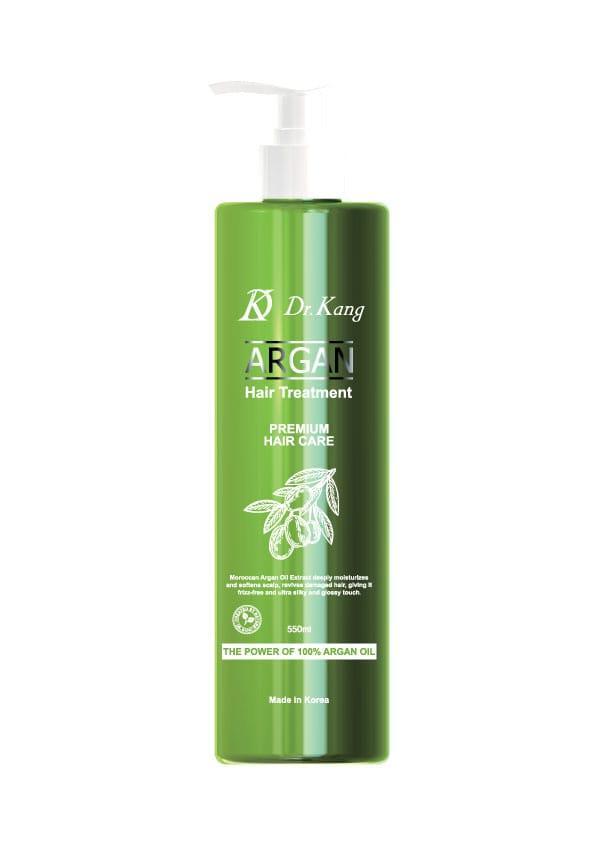 DR. KANG ARGAN PREMIUM HAIR TREATMENT Бальзам-маска для волос Премиум-класса с Аргановым маслом 550мл.