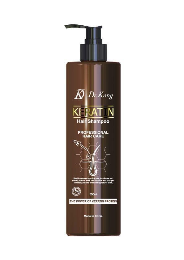 DR. KANG KERATIN PROFESSIONAL HAIR SHAMPOO – Профессиональный шампунь с Кератином 550мл.