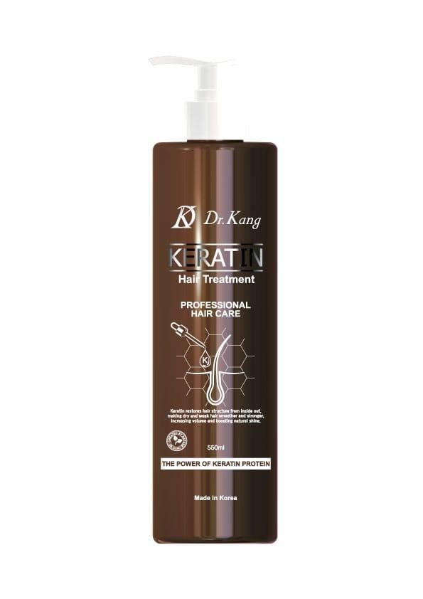 DR. KANG KERATIN PROFESSIONAL HAIR TREATMENT – Профессиональный бальзам-маска с Кератином 550мл/