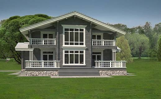Проект дома №329