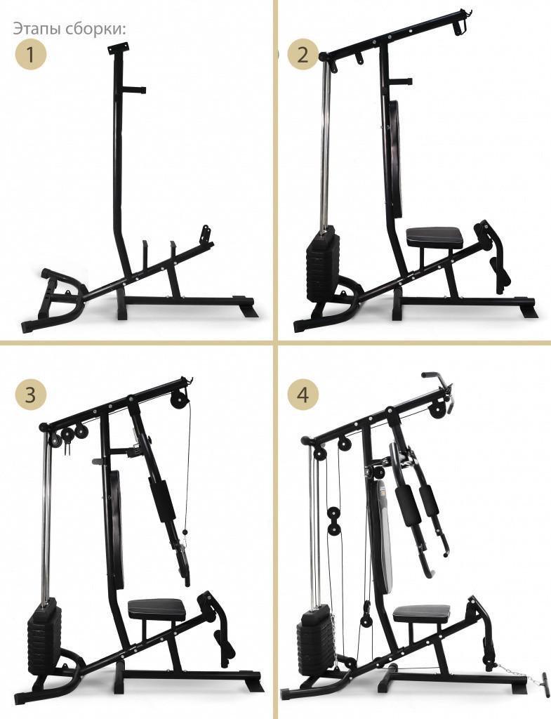 Многофункциональный силовой комплекс Start Line Fitness Strong - фото 3