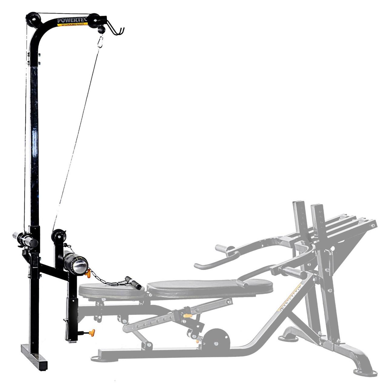 Силовой тренажер Powertec Workbench Lat WB-LTA13 Опция - тяга сверху