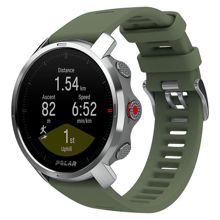 Спортивные часы Polar GRIT X, цвет темно-зеленый
