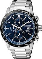 Спортивные часы Citizen AN3600-59L, цвет серебристый