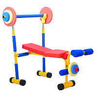 Детский тренажер скамья для жима(JD03)