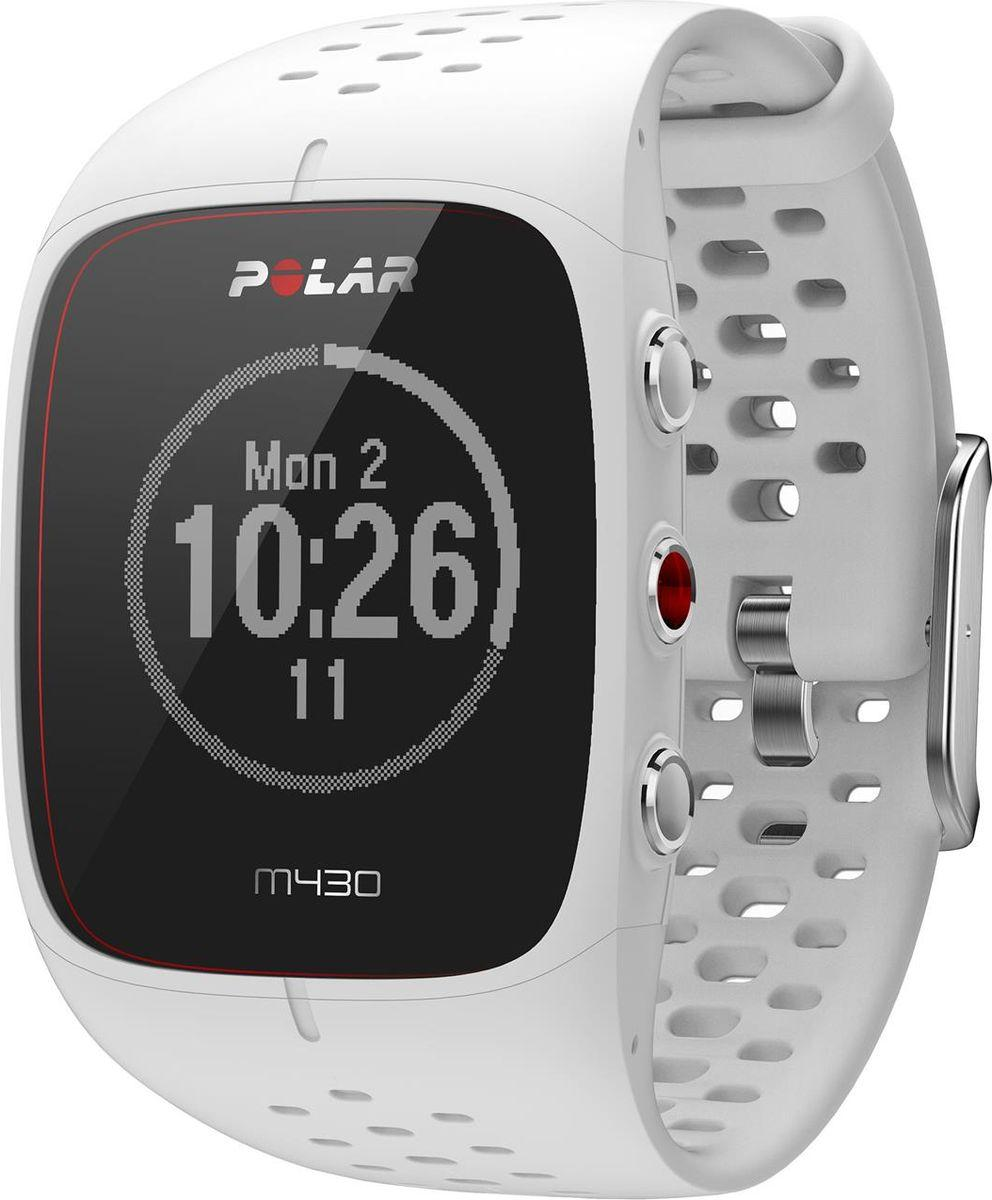 Спортивные часы Polar M430, цвет белый