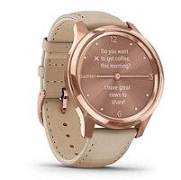 Спортивные часы Garmin VIVOMOVE LUXE, цвет розовый