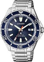 Спортивные часы Citizen BN0191-80L, цвет серебристый