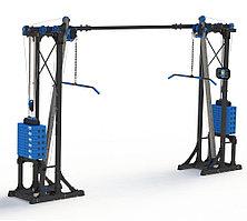 Блоковый тренажер двусторонний Full Set Leco-IT Pro+