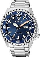 Спортивные часы Citizen NH8389-88L, цвет серебристый