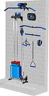 Блоковый тренажер пристенный Leco-IT Pro