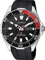 Спортивные часы Citizen NY0076-10E, цвет черный