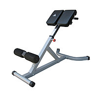 Гиперэкстензия DFC для укрепления мышц живота, спины и бедер, серый