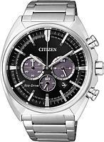 Спортивные часы Citizen CA4280-53E, цвет серебристый