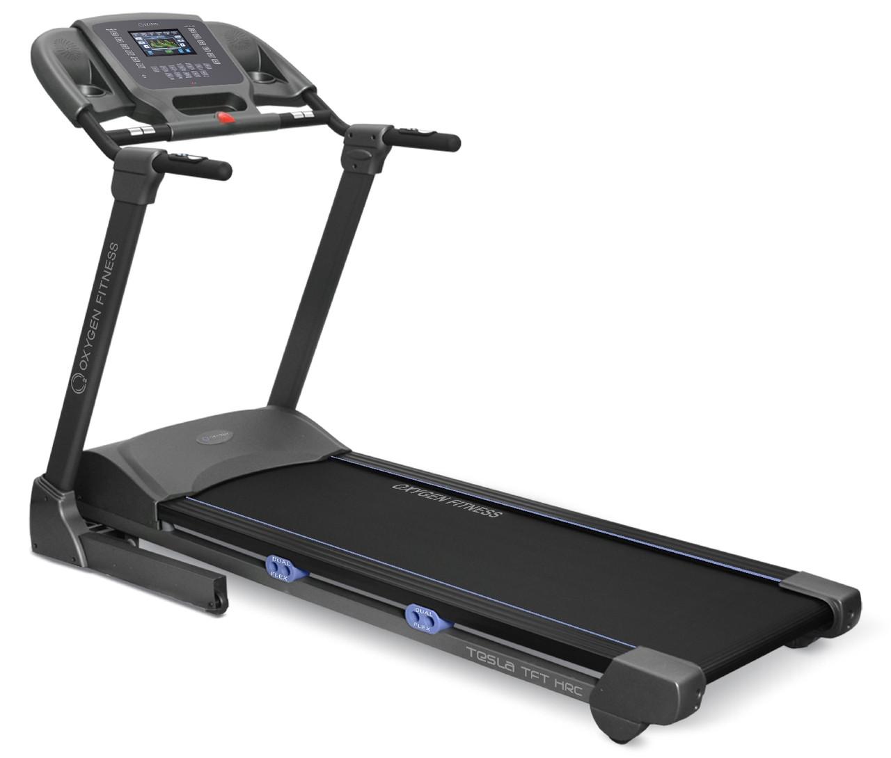 Беговая дорожка Oxygen Fitness OXYGEN TESLA TFT HRC-BF