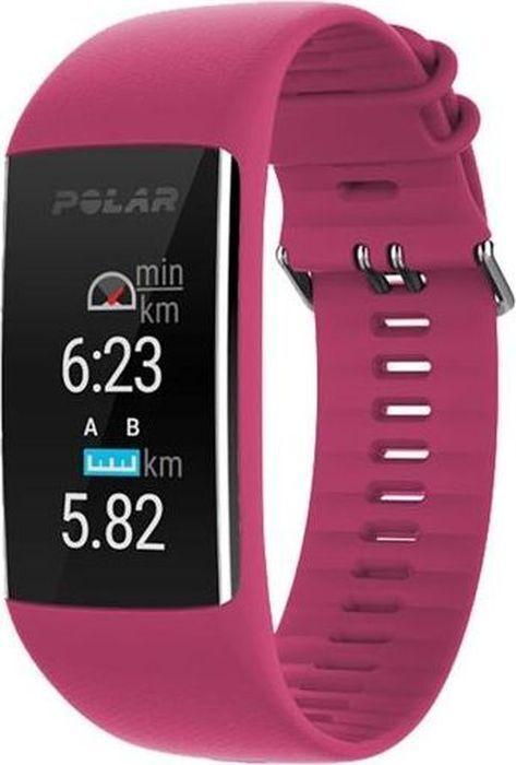 Спортивные часы Polar A370, цвет красный