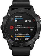 Спортивные часы Garmin Fenix 6 Pro, цвет черный, фото 1