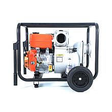 Мотопомпа бензиновая TWP100S для грязной воды.