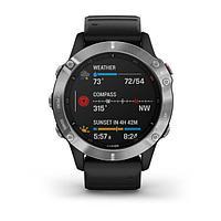 Спортивные часы Garmin Fenix 6, цвет черный