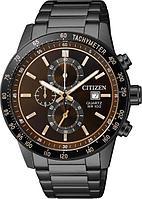 Спортивные часы Citizen AN3605-55X, цвет черный