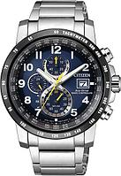 Спортивные часы Citizen AT8124-91L, цвет серебристый