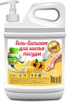 Гель-бальзам для мытья посуды папайя (канистра) 1700 мл