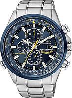 Спортивные часы Citizen AT8020-54L, цвет серебристый