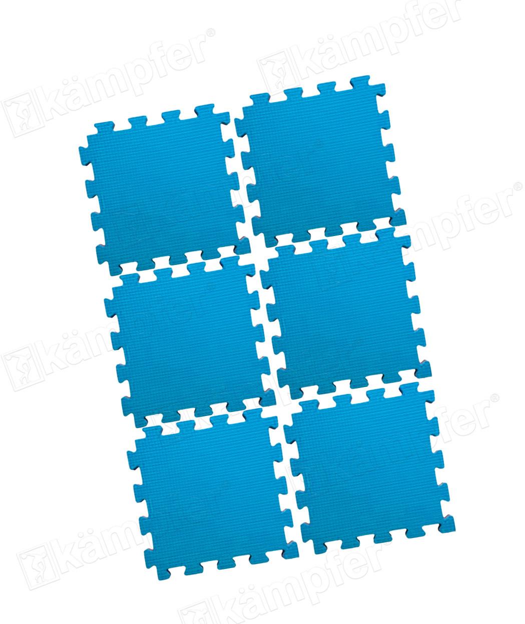 Будо-мат Kampfer №6 синий