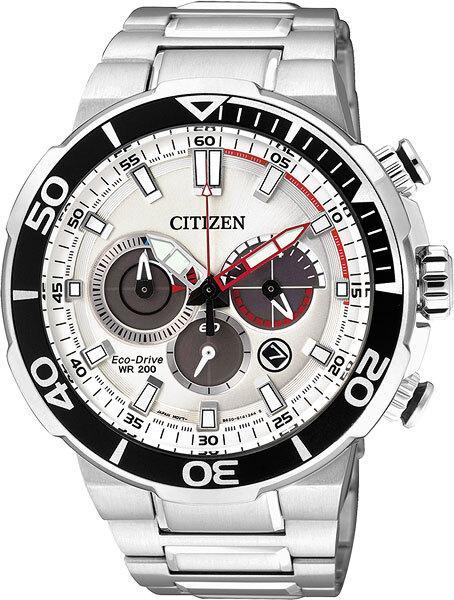 Спортивные часы Citizen CA4250-54A, цвет серебристый