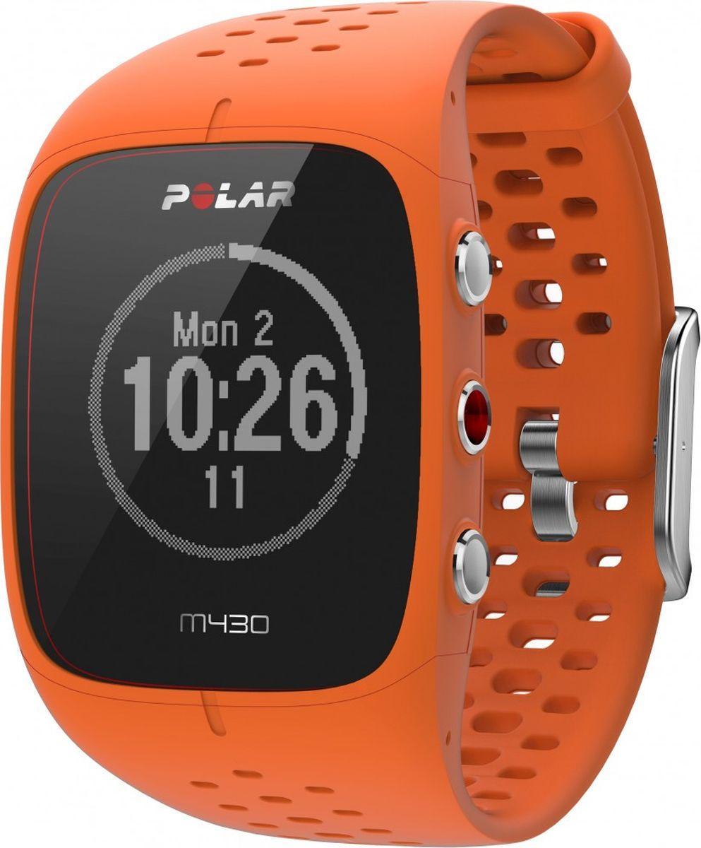 Спортивные часы Polar M430, цвет оранжевый