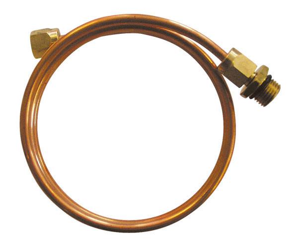 Трубка импульсная под приварку 70-ст.20-МУ наруж. М20х1,5 угловая